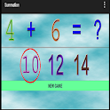 5 years educational games sum icon