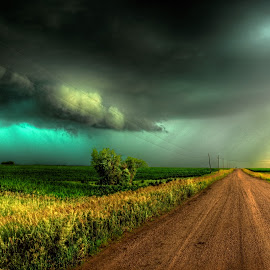 Front by DE Grabenstein - Landscapes Prairies, Meadows & Fields