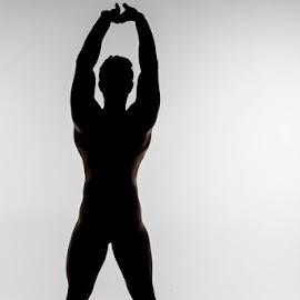 Silhouette by Mel Stratton - Nudes & Boudoir Artistic Nude ( body, nude, silhouette, art, make,  )