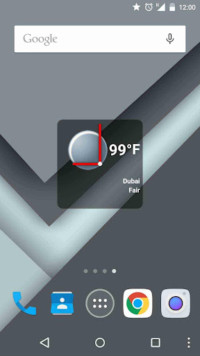 Boxy Clock Widget [Free]
