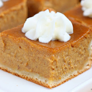 Pumpkin Pie Bars.