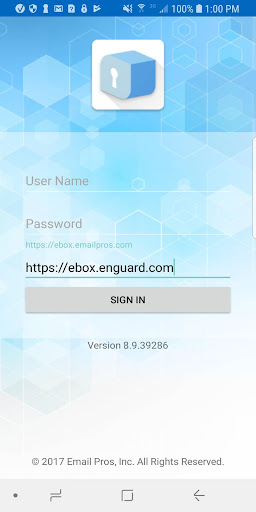 Screenshot for EnGuard Box in United States Play Store