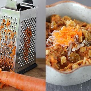 Carrot Cake Oatmeal.