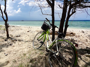 Photo: 3 - GILI TRAWANGAN notre balade en vélo