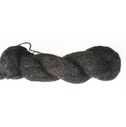 Knit4u - Fårö Gotlandsull, Grafit