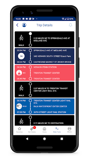NJ TRANSIT Mobile App 2019.1.0 screenshots 6