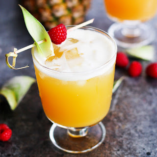 Pineapple-Raspberry Vanilla Vodka Collins Recipe