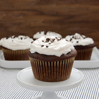 Cookies and Cream Filled Cupcakes