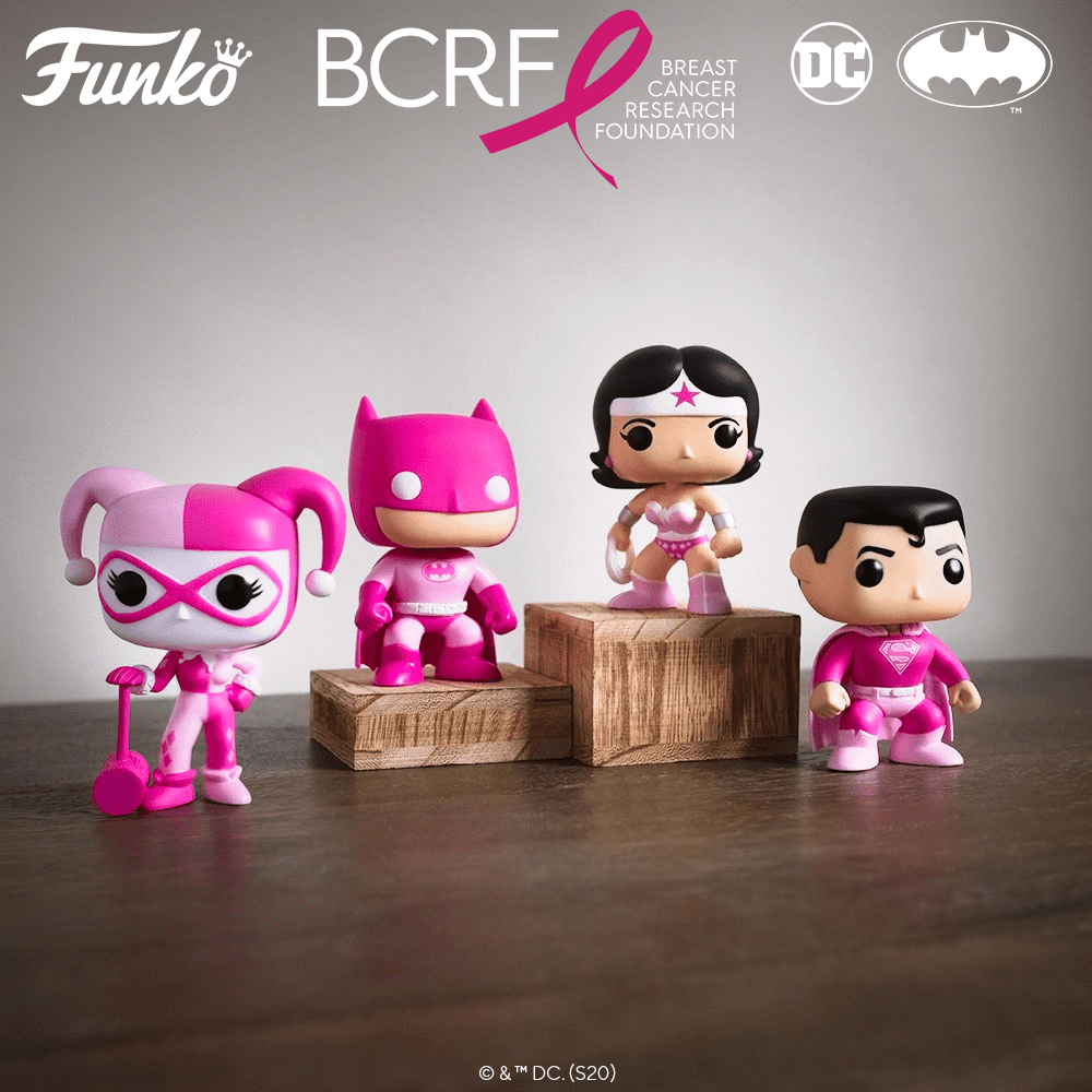 Breast Cancer Awareness Funko Collection 2020