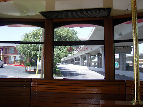 Photo: Back of Trolley Bus