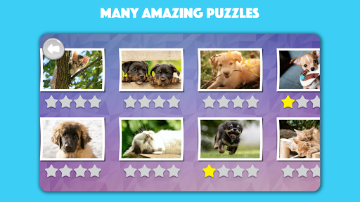 Dogs & Cats Puzzles for kids & toddlers 2 ud83dudc31ud83dudc29  screenshots 2