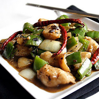 Fish with Black Bean Sauce.