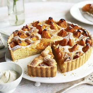 Apricot & Ginger Frangipane Tart Recipe