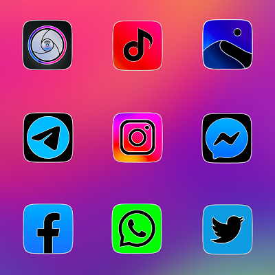 MIUI 11 FLUO - ICON PACK Screenshot Image