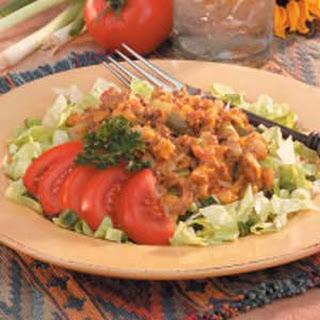 Cheesy Beef Taco Salad