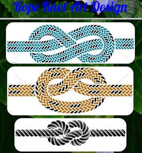 Download Rope Knot Art Design Free