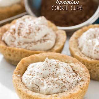 Tiramisu Cookie Cups