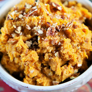 {Slow Cooker} Apple-Pecan Sweet Potatoes
