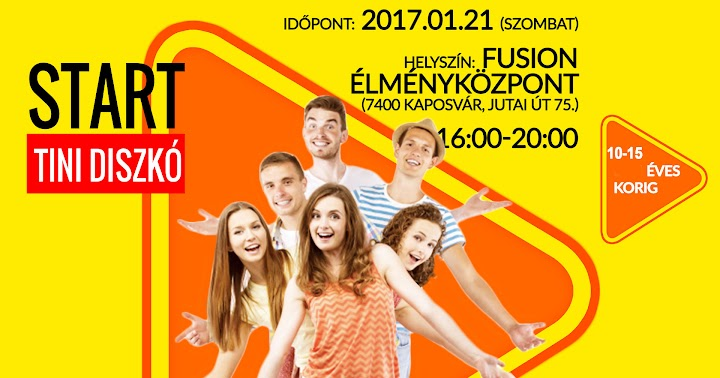 Start Tini Diszkó Kaposvár 2017
