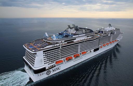 msc-meraviglia-ship.jpg -  MSC Meraviglia sails itineraries chiefly in the Western Mediterranean and Northern Europe.