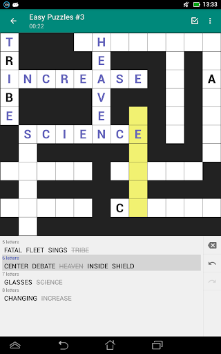 Fill-In Crosswords (Word Fit Puzzles) 2.05 screenshots 8