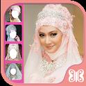 Bridal Hijab Photo Montage icon