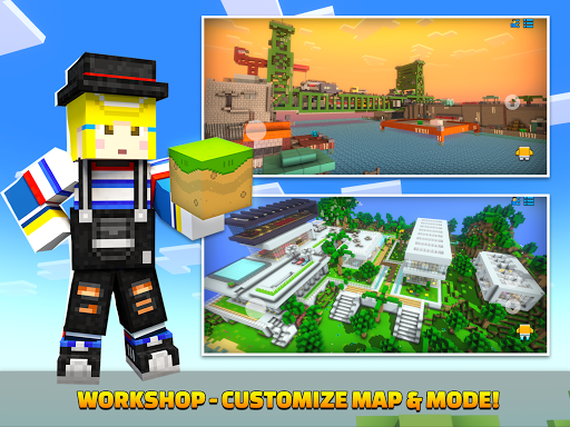 Cops N Robbers - 3D Pixel Craft Gun Shooting Games 9.8.4 Screenshots 14