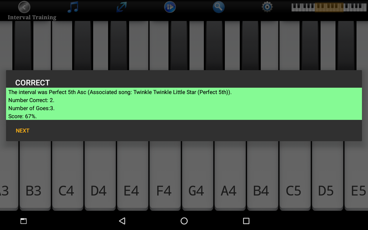 Piano Ear Training Free- screenshot