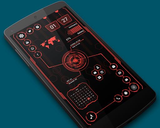 Download Visionary Launcher Pro - 2018 Stylish theme MOD APK 1