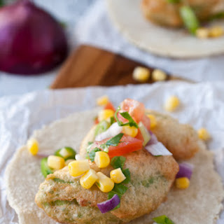 Beer Battered Avocado Tacos with Fresh Corn Salsa