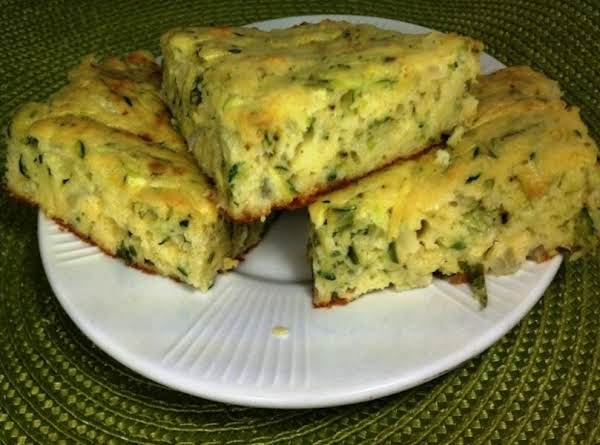 Zucchini And Bisquick Squares