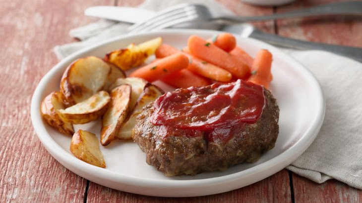 Grilled Meatloaf Dinner Foil Packs Recipe