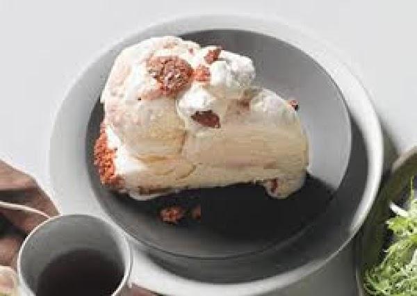 Peach Ice Cream Pie With Amaretti Cookie Crust Recipe