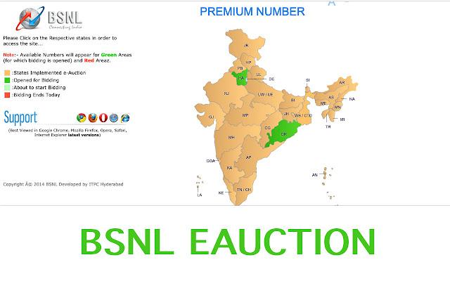 EAuction - BSNL