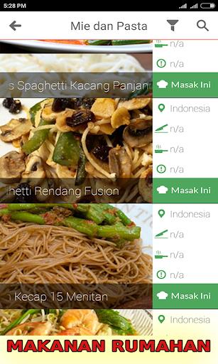 Resep Masakan Rumah Sederhana  screenshots 4