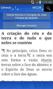 Holy Bible Portuguese (ARC09) - náhled
