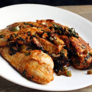 Spicy Marinated Grilled Tilapia.