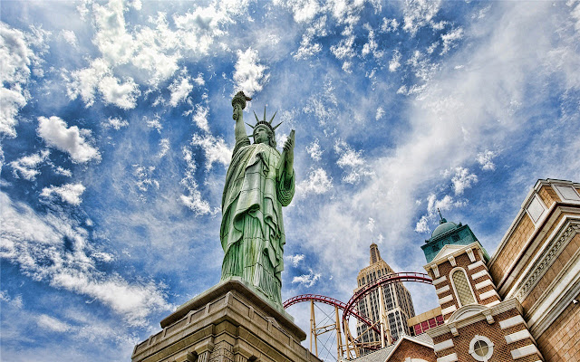 Statue Of Liberty Tema y Nueva pestaña