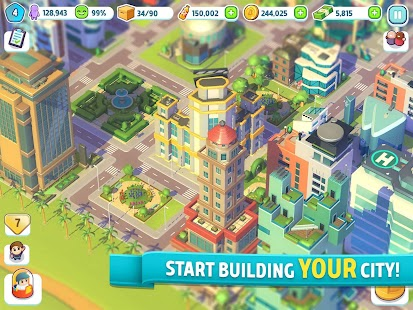 City Mania: Town Building Game Screenshot