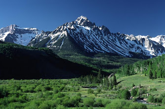 Photo: Mount Sneffels, San Juan Mountains, Colorado