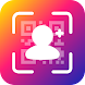 Instant Followers & Get Likes Magic QR Code