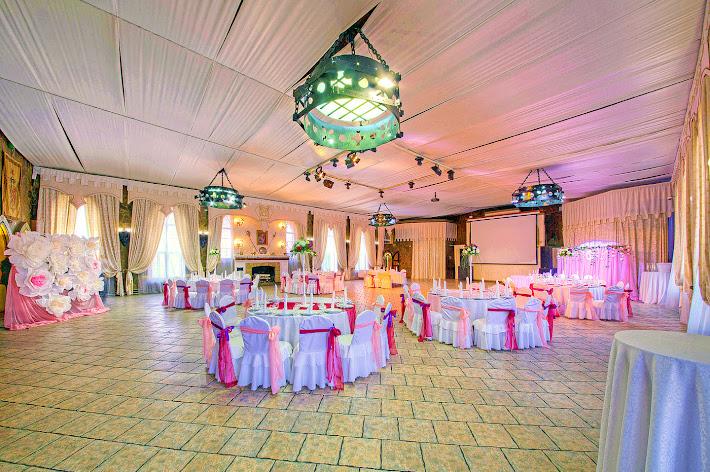 Фото №3 зала Большой банкетный зал ресторана «Замок Айвенго»