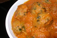 Methi Koftas In Aloo Gravy