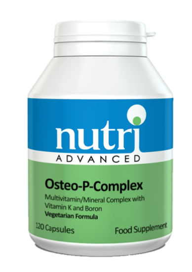 a bottle of Nutri Advanced Osteo-P-Complex