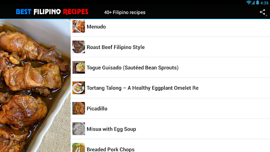40 filipino recipes food apps on google play screenshot image forumfinder Images