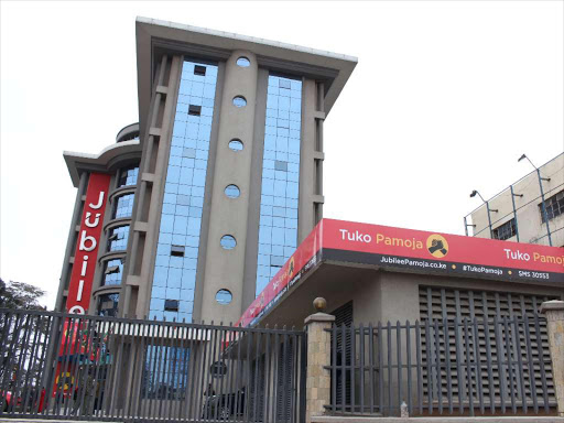 Jubilee Party headquarters along Thika road.