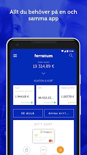 Ferratum Mobile Bank– miniatyr av skärmdump
