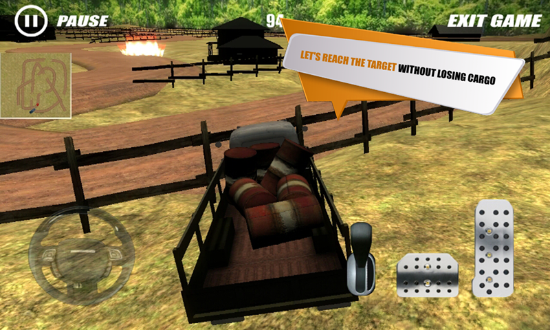 Cargo Truck Delivery Driver 3D- screenshot