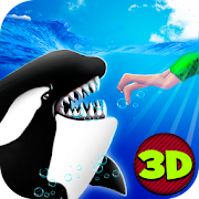 Angry Killer Whale Orca Attack