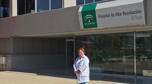Francisca Antón, médica de alto rendimiento
